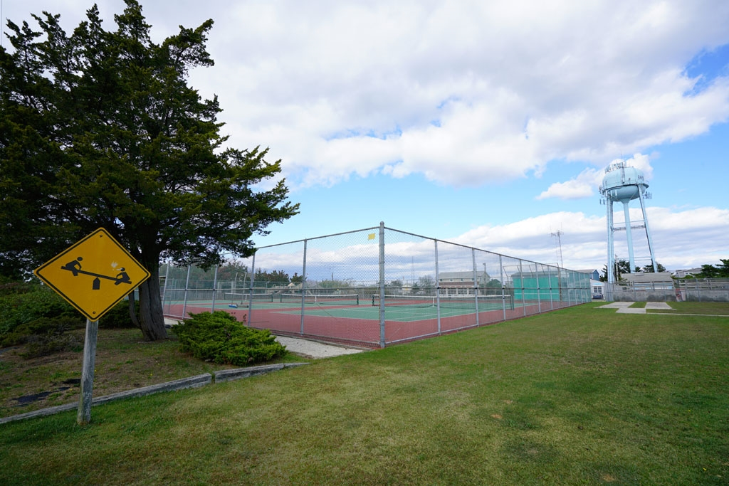 Nearby Playground and Tennis Courts