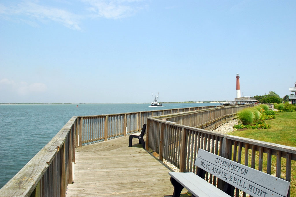 Walkway by Inlet