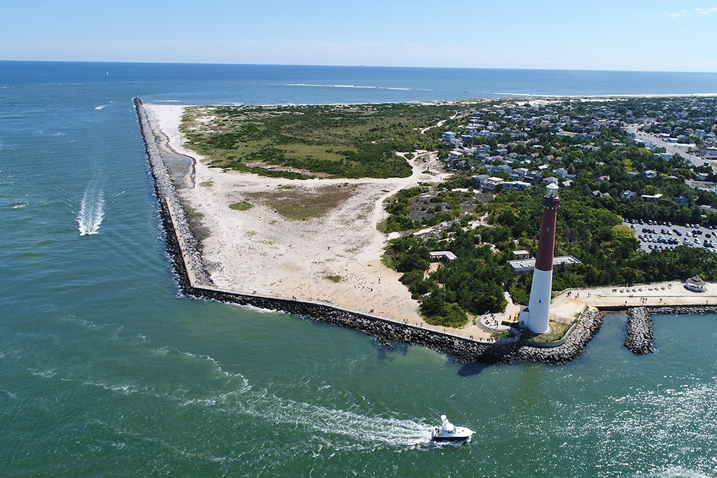 Aerial of Lighthouse