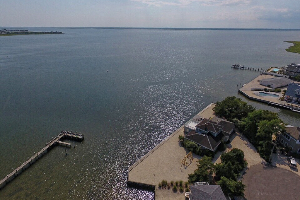 Aerial of Bay