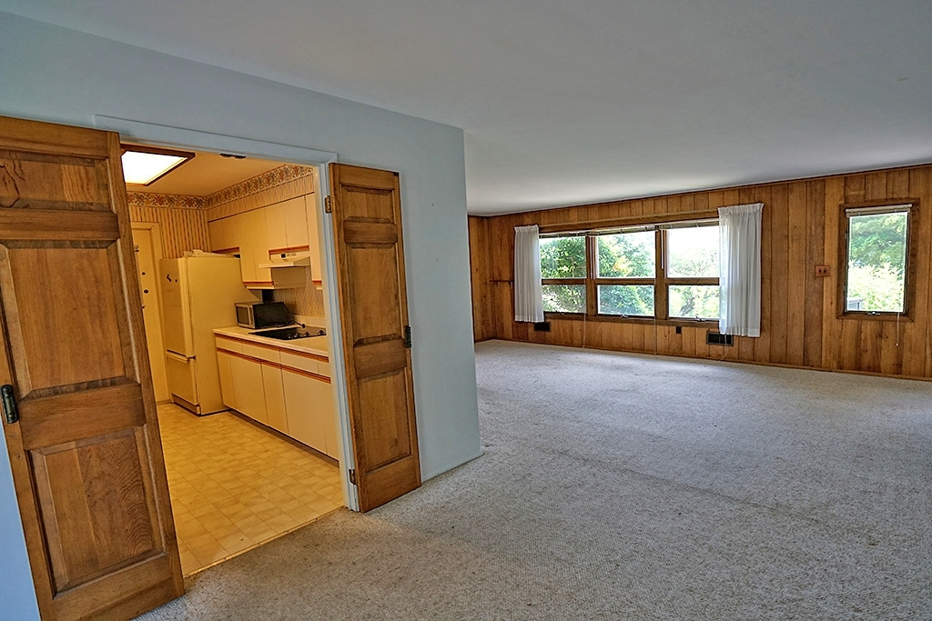 Kitchen and Living Area