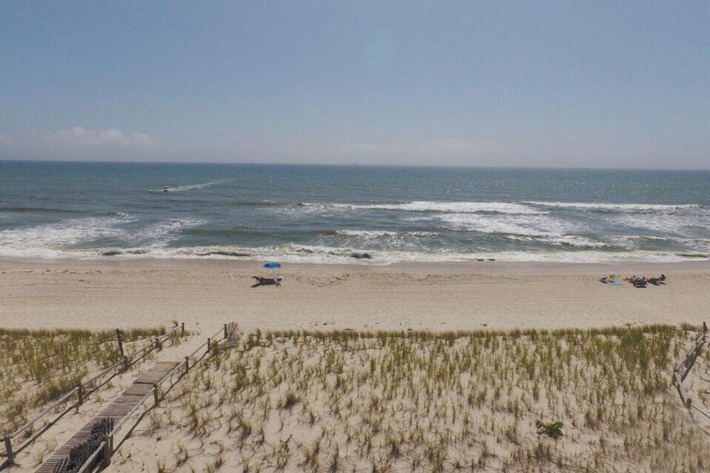 Aerial of Beach East