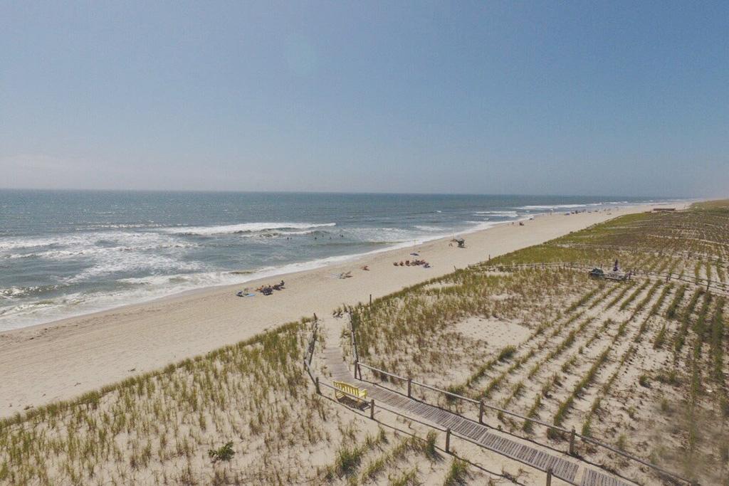 Aerial of Beach South